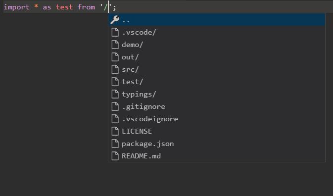 Path Autocomplete - Visual Studio Marketplace